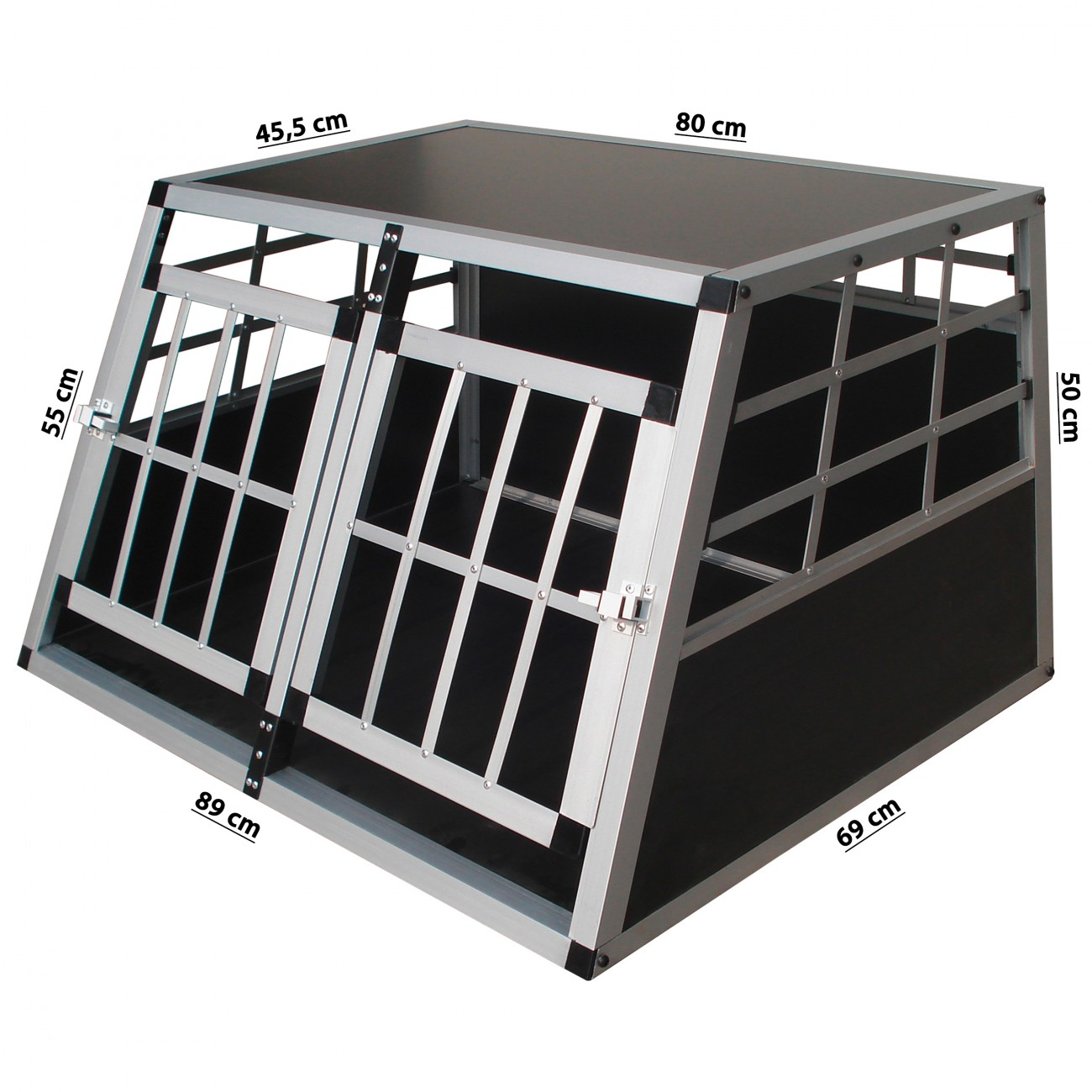 cage de transport pour chien caisse boite de transport. Black Bedroom Furniture Sets. Home Design Ideas