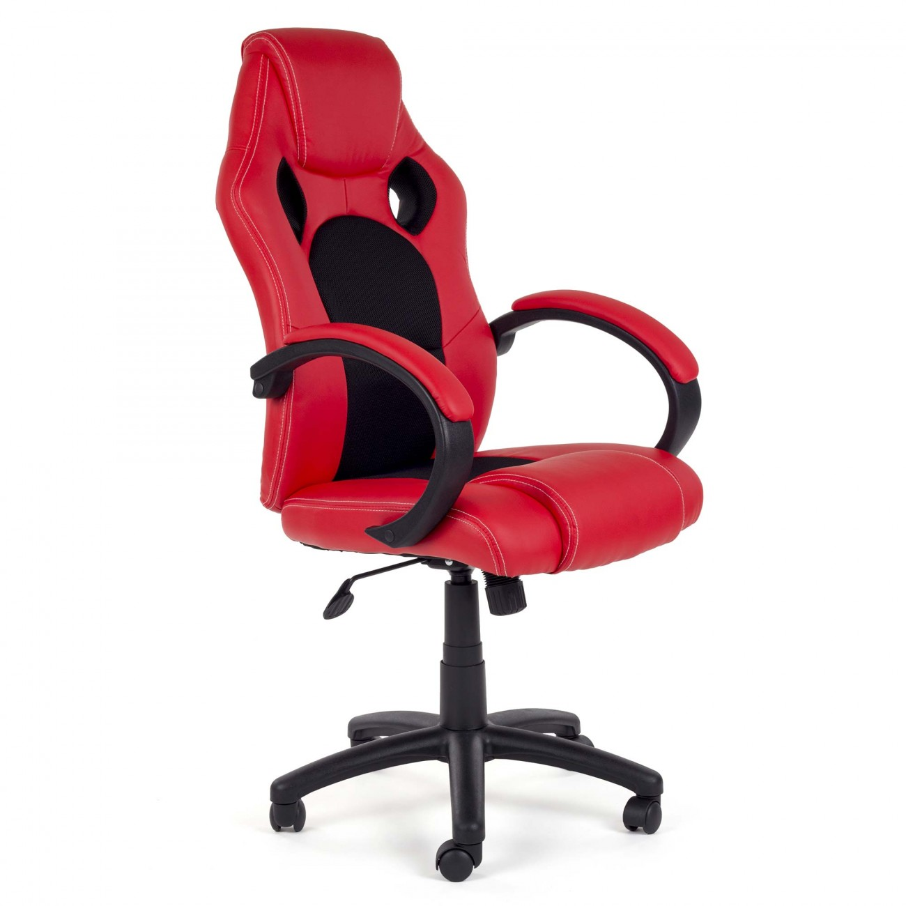 my sit office chair racing pu red black v8 our office chair is just