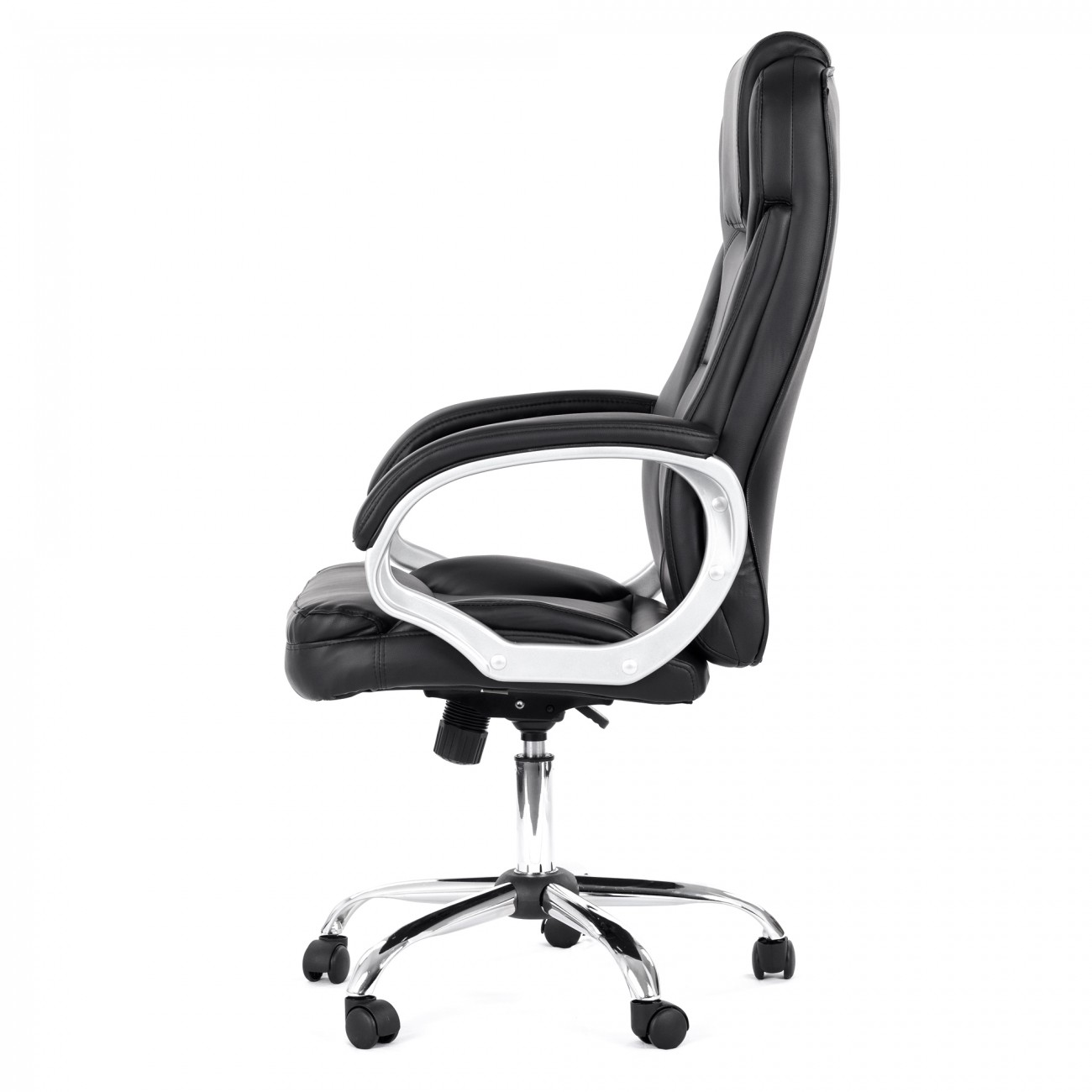 my sit office chair milano faux leather in black office