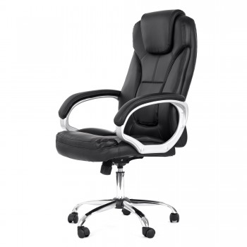 MY SIT Office Chair Milano Faux Leather in Black – Bild 4