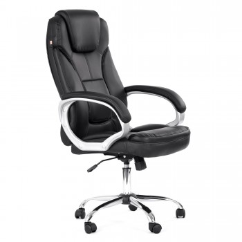 MY SIT Office Chair Milano Faux Leather in Black – Bild 1