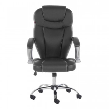 MY SIT Office Chair Rome Faux Leather in Black – Bild 2