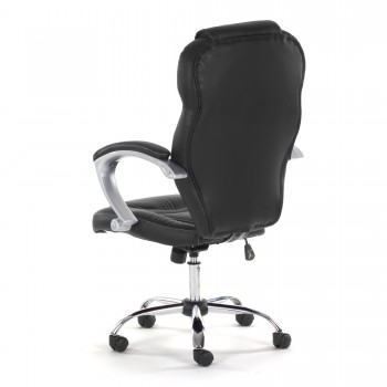 MY SIT Office Chair Rome Faux Leather in Black – Bild 5