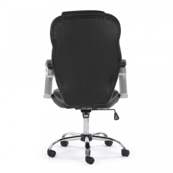 MY SIT Office Chair Rome Faux Leather in Black – Bild 6