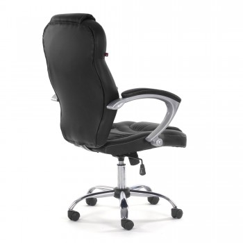 MY SIT Office Chair Rome Faux Leather in Black – Bild 7