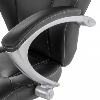MY SIT Office Chair Rome Faux Leather in Black – Bild 9