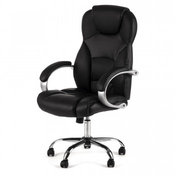MY SIT Office Chair Amsterdam Faux Leather in Black – Bild 3