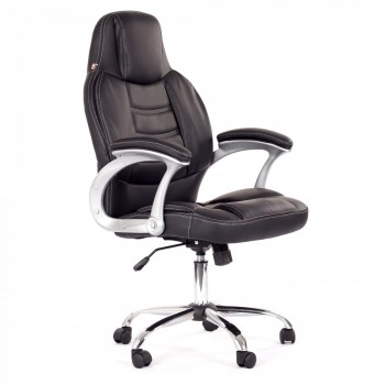 MY SIT Office Chair Venecia Faux Leather in Black – Bild 1