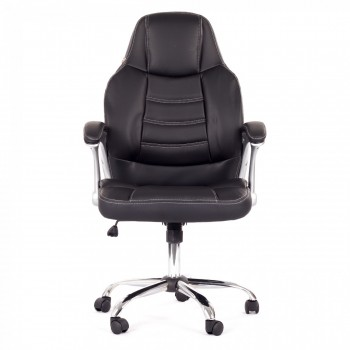 MY SIT Office Chair Venecia Faux Leather in Black – Bild 2
