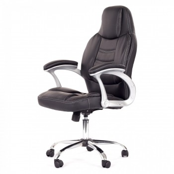 MY SIT Office Chair Venecia Faux Leather in Black – Bild 3