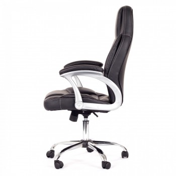 MY SIT Office Chair Venecia Faux Leather in Black – Bild 4