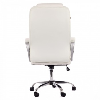 MY SIT Office Chair Milano Faux Leather Deluxe Edition in White – Bild 6