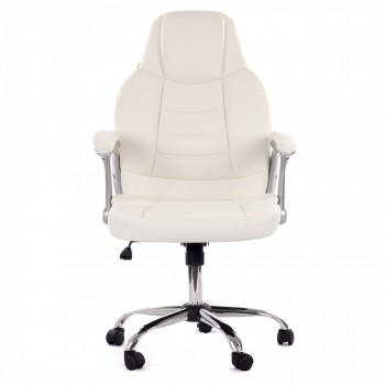 MY SIT Office Chair Venecia Deluxe Faux Leather in White – Bild 2