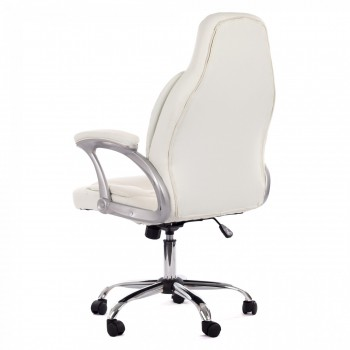 MY SIT Office Chair Venecia Deluxe Faux Leather in White – Bild 5