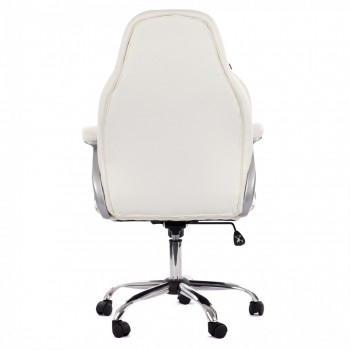 MY SIT Office Chair Venecia Deluxe Faux Leather in White – Bild 6