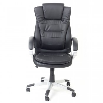 MY SIT Office Chair Chicago Economy Faux Leather in Black – Bild 2
