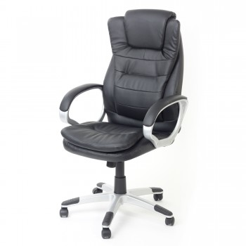 MY SIT Office Chair Chicago Economy Faux Leather in Black – Bild 3