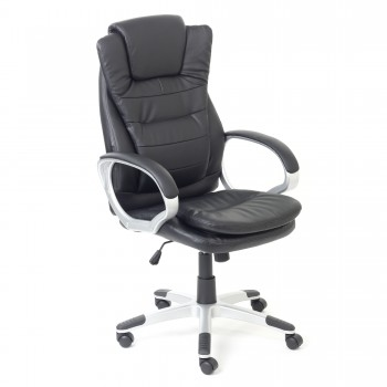 MY SIT Office Chair Chicago Economy Faux Leather in Black – Bild 1