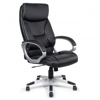 MY SIT Office Chair Bora Bora Faux Leather in Black  – Bild 1