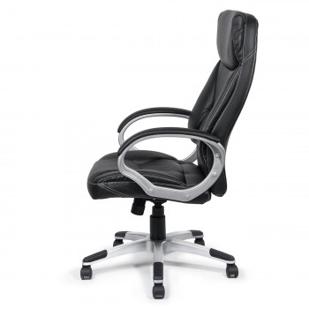 MY SIT Office Chair Bora Bora Faux Leather in Black  – Bild 4
