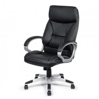 MY SIT Office Chair Bora Bora Faux Leather in Black  – Bild 3