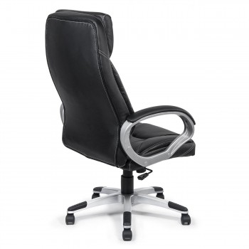 MY SIT Office Chair Bora Bora Faux Leather in Black  – Bild 7