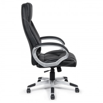 MY SIT Office Chair Bora Bora Faux Leather in Black  – Bild 8