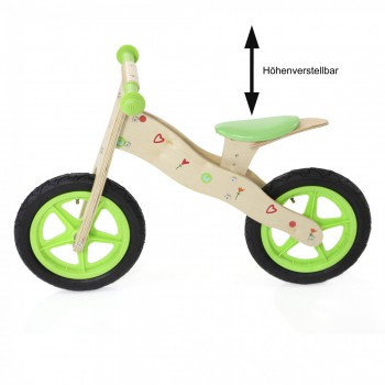 Baby Vivo Children Balance Bike 12 Inch - Classic in Green – Bild 3