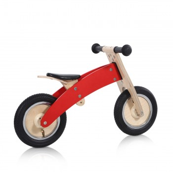 Baby Vivo 10 inch balance bike / trainer bike made of wood - Chopper in Red – Bild 5