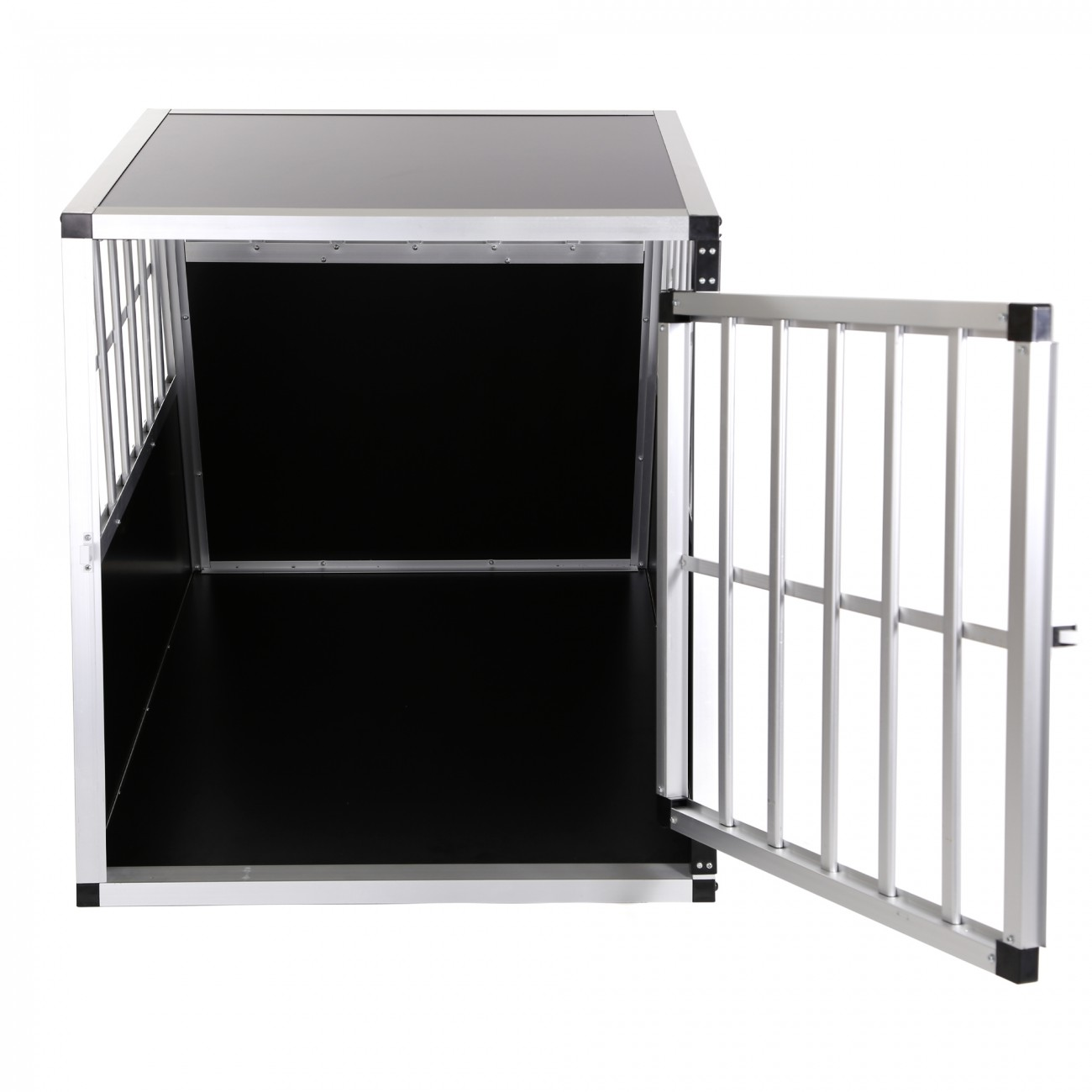 zoomundo cage de transport pour chien 1 porte premium. Black Bedroom Furniture Sets. Home Design Ideas
