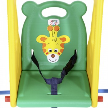 Baby Vivo Kids Swing Playground with Slide for Indoor and Outdoor - JUNGLE – Bild 8