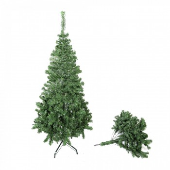 Artificial Christmas Tree 210 cm PVC – Bild 4