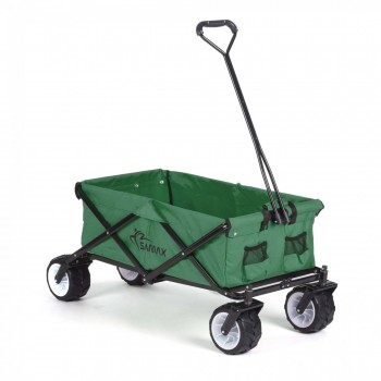 SAMAX Foldable Hand Cart Offroad - Green – Bild 1