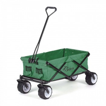 SAMAX Foldable Hand Cart Offroad - Green – Bild 2
