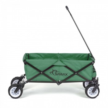 SAMAX Foldable Hand Cart Offroad - Green – Bild 4