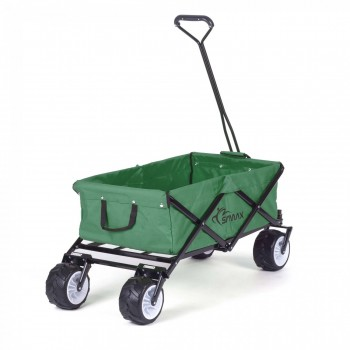 SAMAX Foldable Hand Cart Offroad - Green – Bild 5