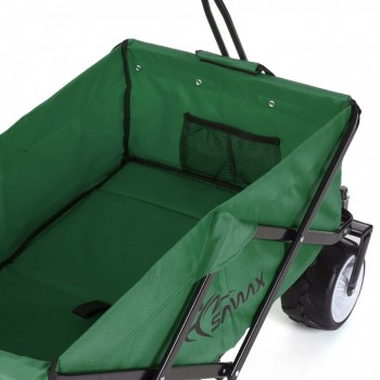SAMAX Foldable Hand Cart Offroad - Green – Bild 6