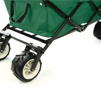 SAMAX Foldable Hand Cart Offroad - Green – Bild 12