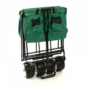 SAMAX Foldable Hand Cart Offroad - Green – Bild 7