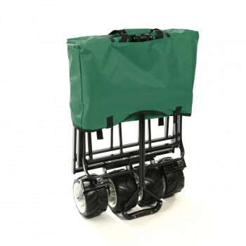 SAMAX Foldable Hand Cart Offroad - Green – Bild 9