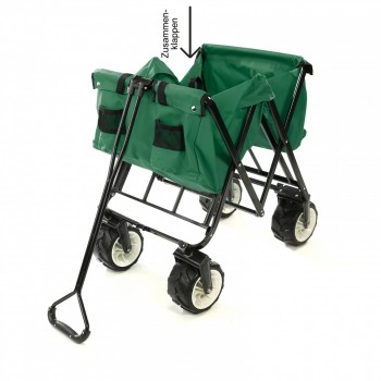 SAMAX Foldable Hand Cart Offroad - Green – Bild 11