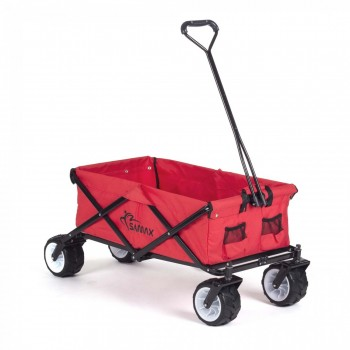 SAMAX Foldable Hand Cart Offroad - Red – Bild 1