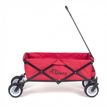 SAMAX Foldable Hand Cart Offroad - Red – Bild 4