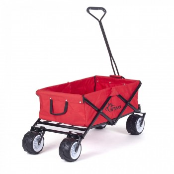 SAMAX Foldable Hand Cart Offroad - Red – Bild 5