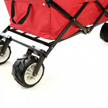 SAMAX Foldable Hand Cart Offroad - Red – Bild 12