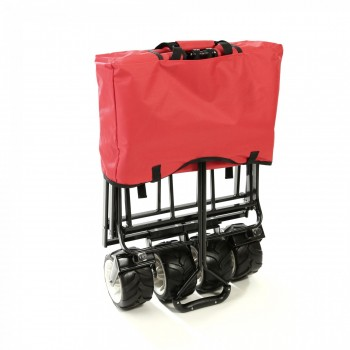 SAMAX Foldable Hand Cart Offroad - Red – Bild 9