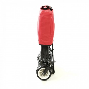 SAMAX Foldable Hand Cart Offroad - Red – Bild 10