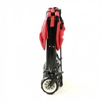 SAMAX Foldable Hand Cart Offroad - Red – Bild 8