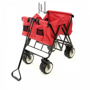 SAMAX Foldable Hand Cart Offroad - Red – Bild 11