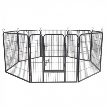ZOOMUNDO Large Pet Play Pen / Puppy Area - 8 Pieces – Bild 2